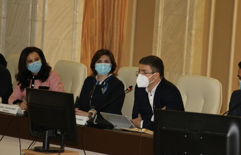 Activitate în Comisia de Învățământ, Tineret și Sport