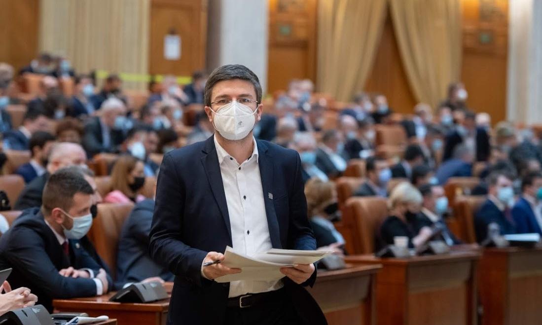 Activitate în plenul Senatului