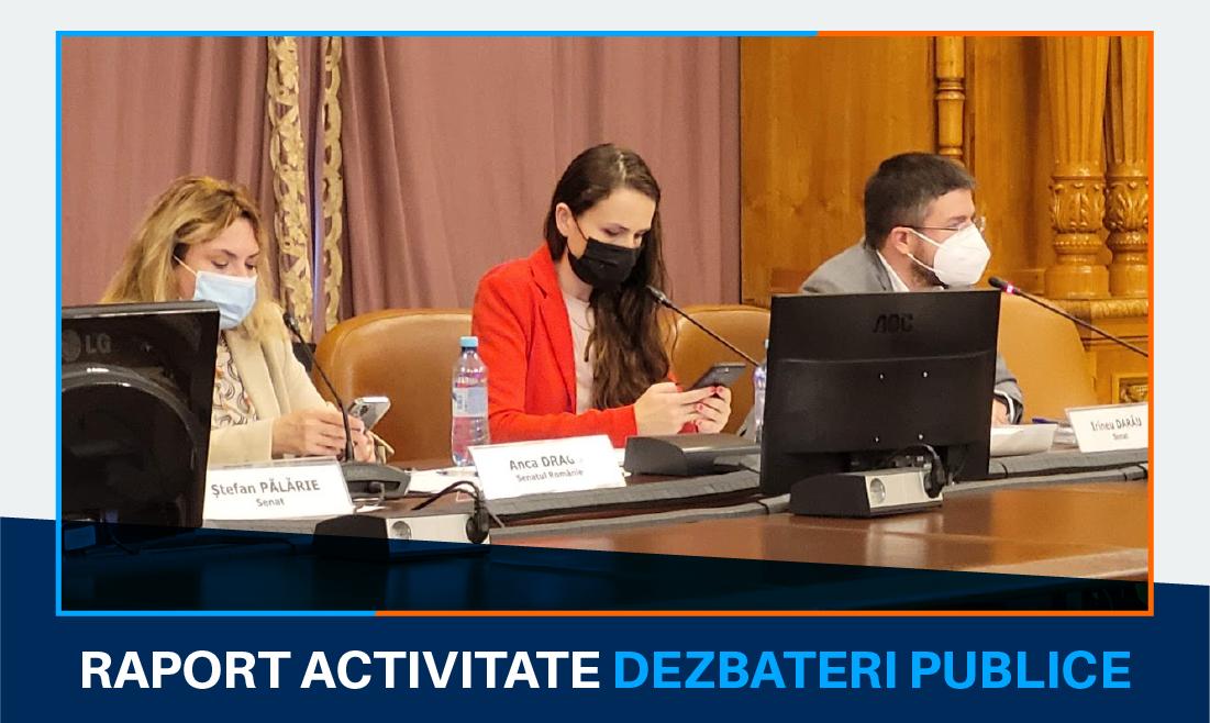 Dezbateri publice și întâlniri